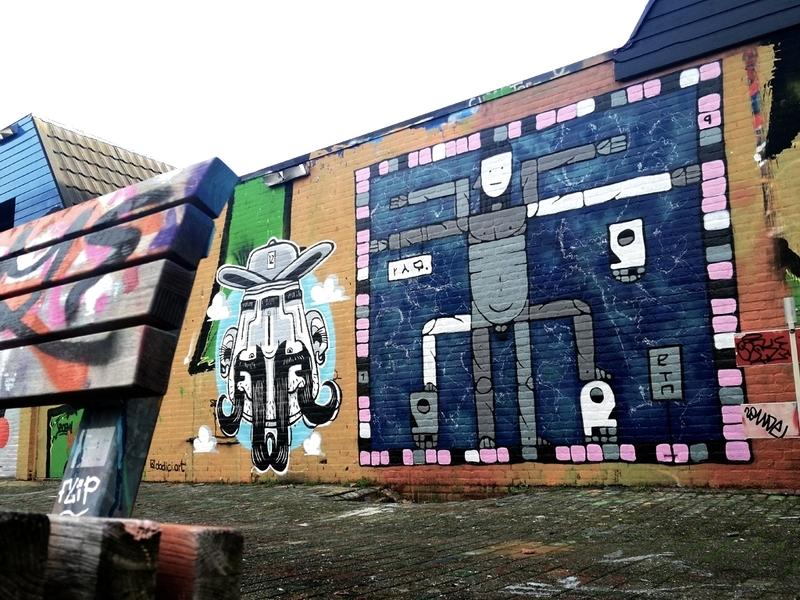 Wallspot - Riq Etiq - VITRUVIUS - Rotterdam - Croos - Graffity - Legal Walls - Illustration, Others