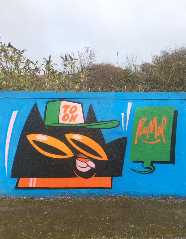 Wallspot - Danny Rumbl - Aberdeen - Donside Village - Graffity - Legal Walls -