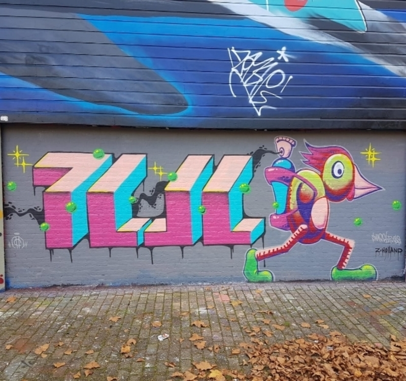 Wallspot - Snagelpuss - Rotterdam - Croos - Graffity - Legal Walls -