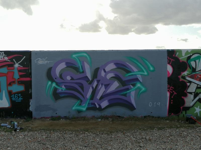 Wallspot - Pancho.P - Forum beach 3D neón - Barcelona - Forum beach - Graffity - Legal Walls - Lletres
