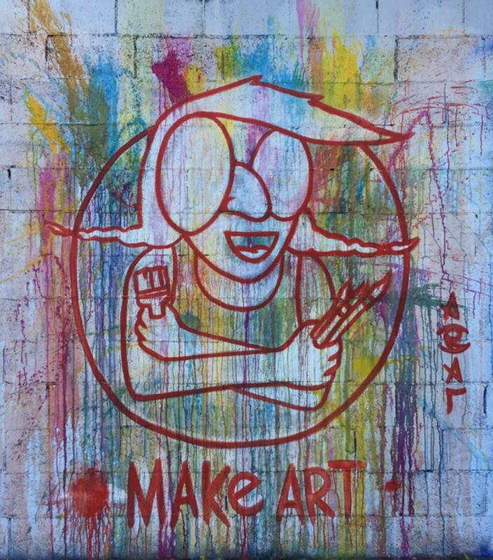 Wallspot - araL - Barcelona - Tres Xemeneies - Graffity - Legal Walls -