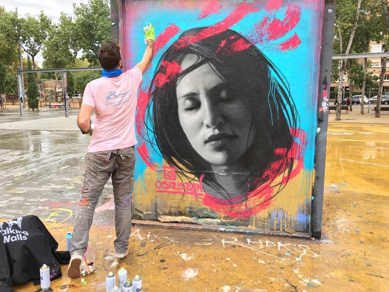Wallspot - Osiris - CUBE tres xemeneies - Osiris Rain - Barcelona - CUBE tres xemeneies - Graffity - Legal Walls - Il·lustració, Altres
