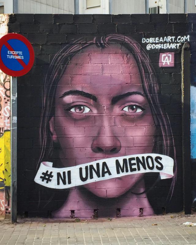 Wallspot - DOBLE A - Barberà del Vallès - Maria Reverter / Nemesi Valls - Graffity - Legal Walls -