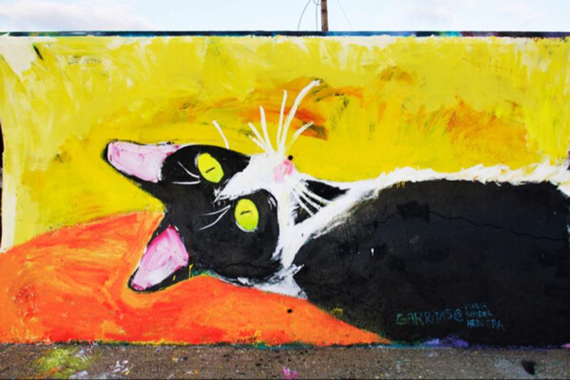Wallspot - gimenaherrera - Garritas - Barcelona - Forum beach - Graffity - Legal Walls - Letters, Illustration, Others