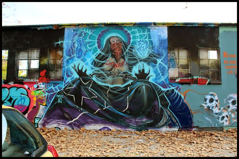 Wallspot - pincel Tattoo - Barcelona - Agricultura - Graffity - Legal Walls - Altres