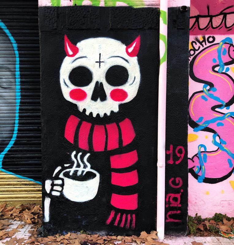 Wallspot - nia.g - Barcelona - Western Town - Graffity - Legal Walls - Il·lustració