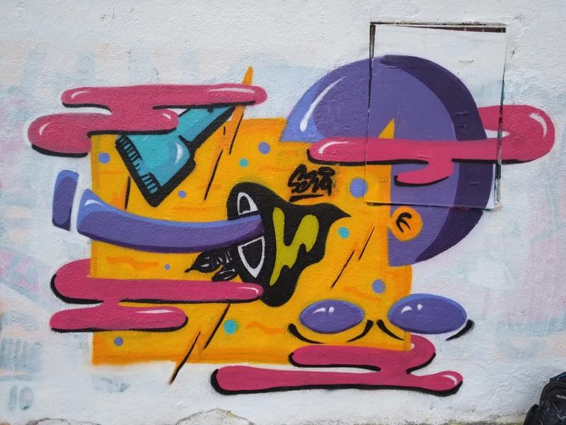 Wallspot - selva - Larrymorphic - Barcelona - Western Town - Graffity - Legal Walls - Il·lustració