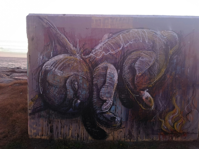 Wallspot - msq - raulrodriguez.mosiq - Barcelona - Forum beach - Graffity - Legal Walls -