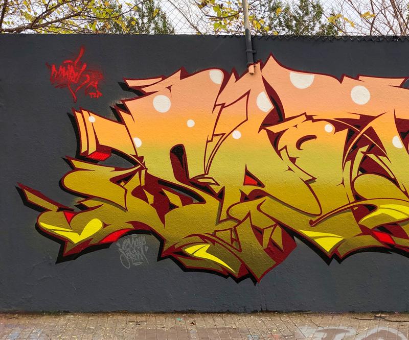 Wallspot - ESPRIT - ESPRIT X LAEC X JOEL - Barcelona - Selva de Mar - Graffity - Legal Walls - Letters, Illustration