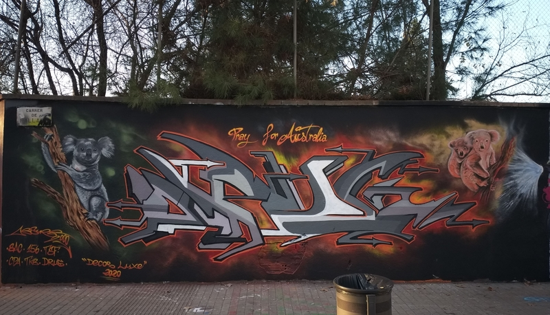 Wallspot - ABSURE2000 - Barcelona - Agricultura - Graffity - Legal Walls -