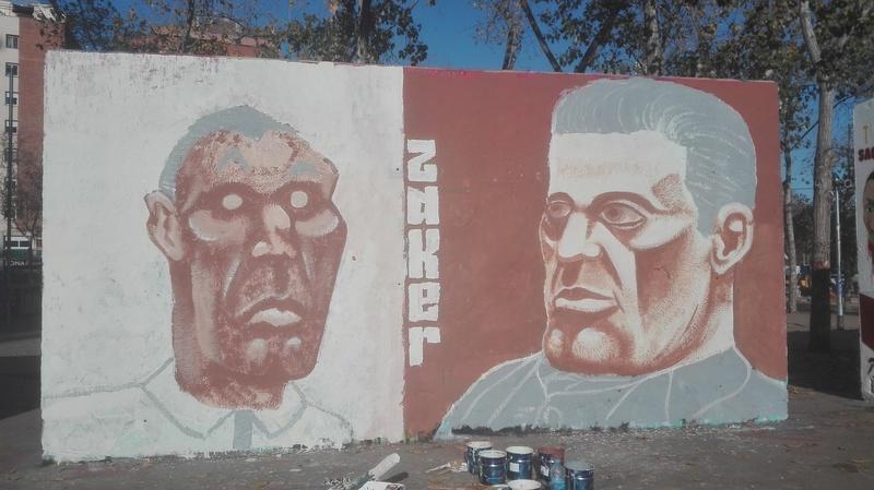 Wallspot - zaker - Tres Xemeneies - zaker - Barcelona - Tres Xemeneies - Graffity - Legal Walls - Il·lustració