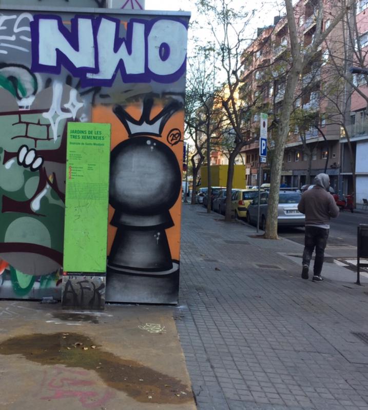 Wallspot - peone1 - PEON - Barcelona - Tres Xemeneies - Graffity - Legal Walls - Il·lustració