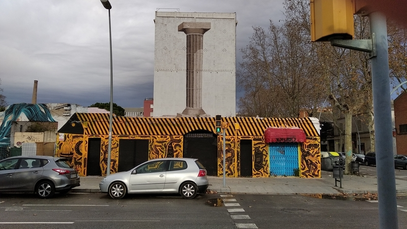 Wallspot - AndreTheSpider - Barcelona - Western Town - Graffity - Legal Walls -