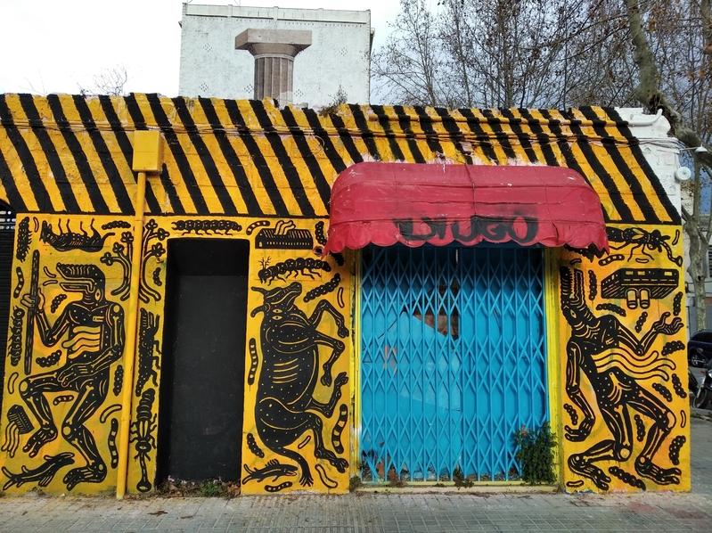 Wallspot - AndreTheSpider - Barcelona - Western Town - Graffity - Legal Walls -