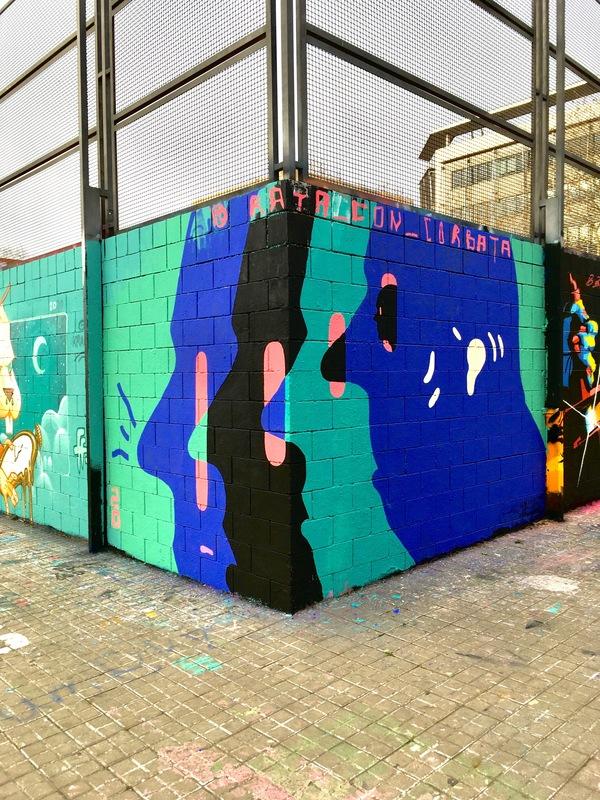 Wallspot - rata.con.corbata - Drassanes - rata.con.corbata - Barcelona - Drassanes - Graffity - Legal Walls -