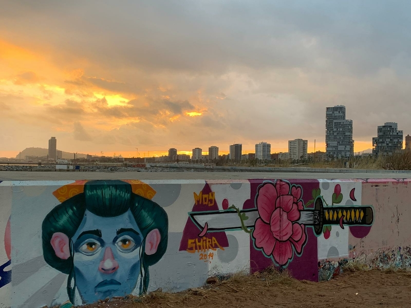 Wallspot - El Moy - Barcelona - Forum beach - Graffity - Legal Walls -
