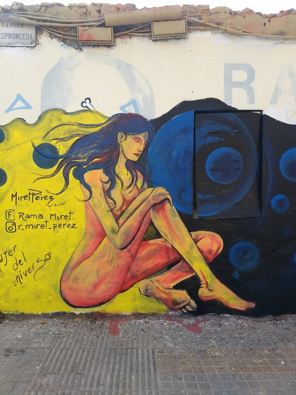 Wallspot - MiretPerez - Mujer del Universo - Western Town - Barcelona - Western Town - Graffity - Legal Walls - Ilustración, Otros
