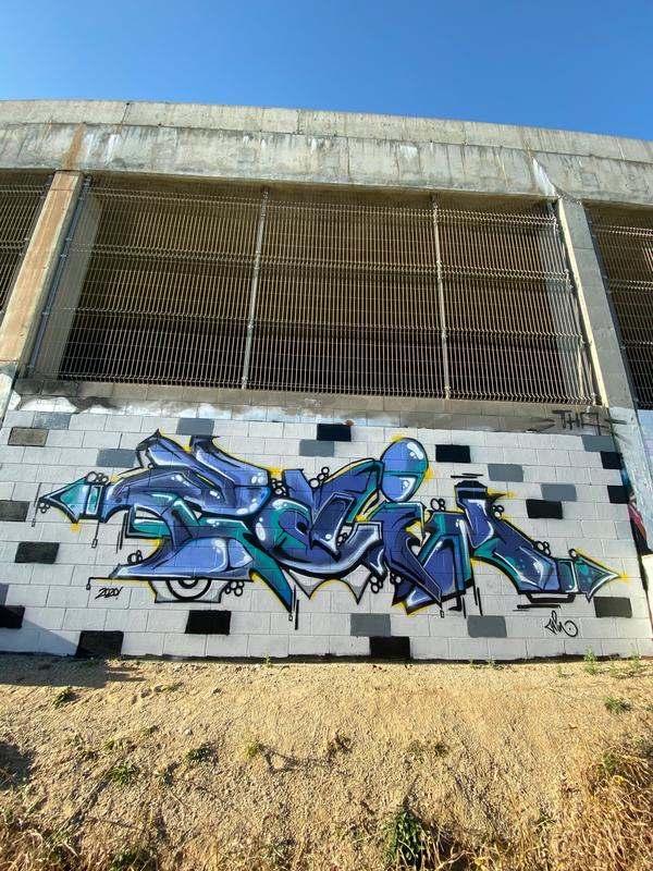 Wallspot - Niaceno - Forum Place - Barcelona - Forum Place - Graffity - Legal Walls - Letras