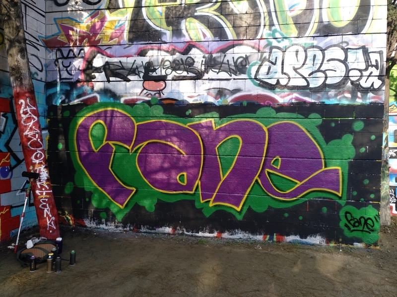 Wallspot - FANE_BCN - Barcelona - Drassanes - Graffity - Legal Walls -