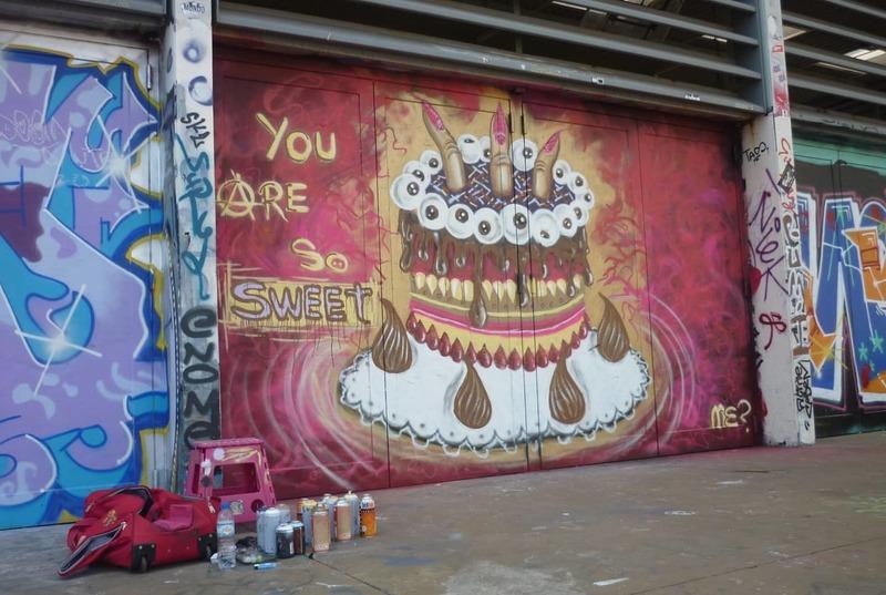 Wallspot - meyphi - Tres Xemeneies - meyphi - Barcelona - Tres Xemeneies - Graffity - Legal Walls - ,