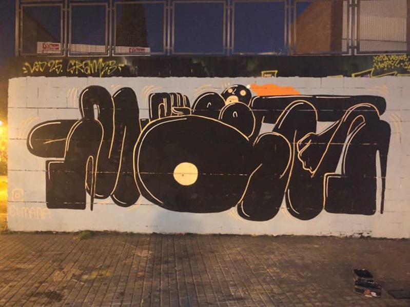 Wallspot - CI.MA.A.A - Tres Xemeneies - CI.MA.A.A - Barcelona - Tres Xemeneies - Graffity - Legal Walls -