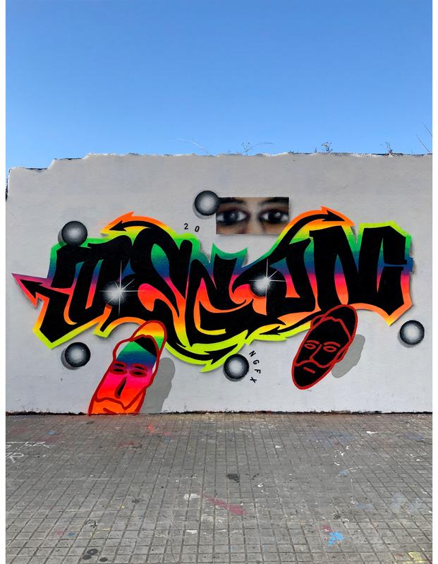 Wallspot - degon - Agricultura - Barcelona - Agricultura - Graffity - Legal Walls - Letters