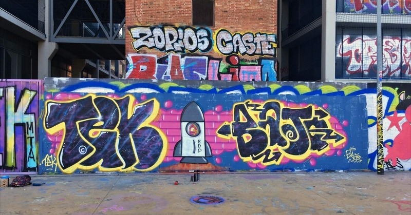 Wallspot - J.Bajo - El boote mee a faallaoo - Barcelona - Tres Xemeneies - Graffity - Legal Walls - ,