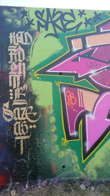 Wallspot - Sazels - Barcelona - Forum beach - Graffity - Legal Walls -