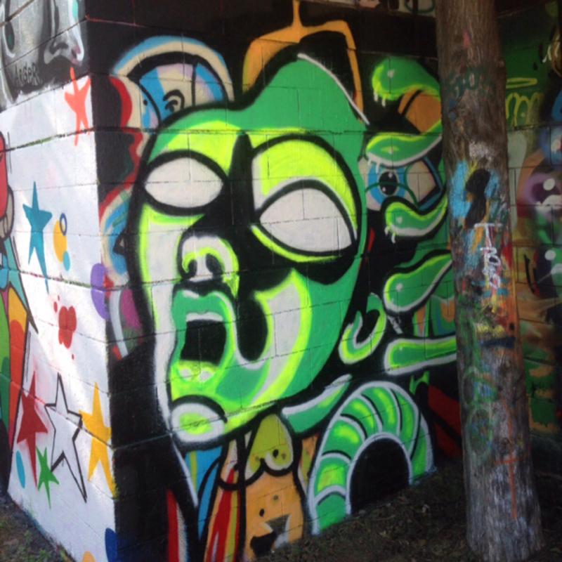 Wallspot - Rupa - Medussa - Barcelona - Drassanes - Graffity - Legal Walls -