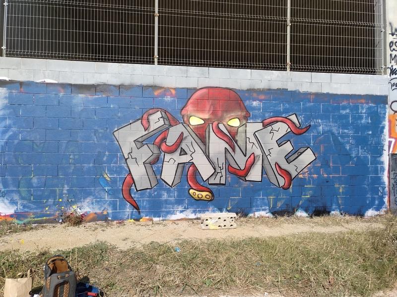 Wallspot - FANE_BCN - Barcelona - Forum Place - Graffity - Legal Walls -