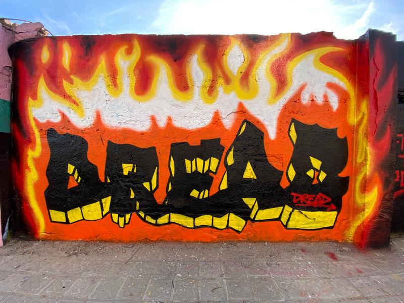 Wallspot - Dreadful - Selva de Mar - Dreadful - Barcelona - Selva de Mar - Graffity - Legal Walls - Lletres