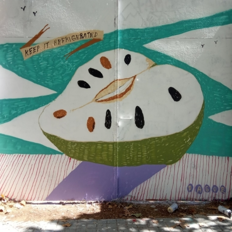 Wallspot - dagoe - Barcelona - Agricultura - Graffity - Legal Walls -