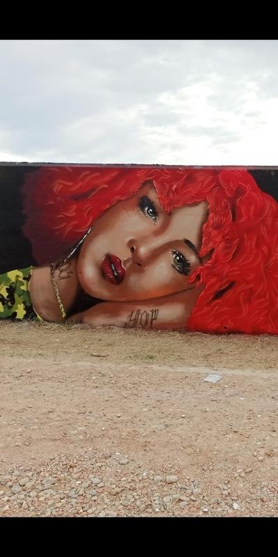 Wallspot - Saez027 - Forum beach - Barcelona - Forum beach - Graffity - Legal Walls -