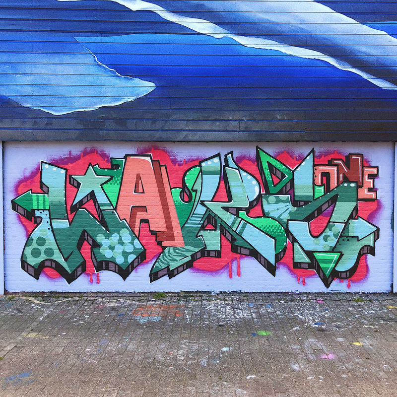 Wallspot - waksofficial - Crooswijk - Rotterdam - Croos - Graffity - Legal Walls - Letras