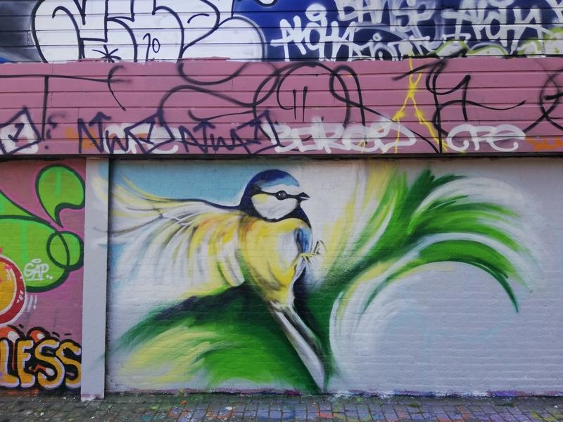 Wallspot - Trude - Croos second piece - Rotterdam - Croos - Graffity - Legal Walls -