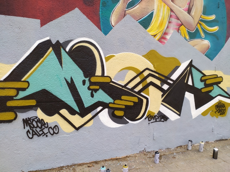 Wallspot - Msocle - Selva de Mar - Msocle - Barcelona - Selva de Mar - Graffity - Legal Walls -
