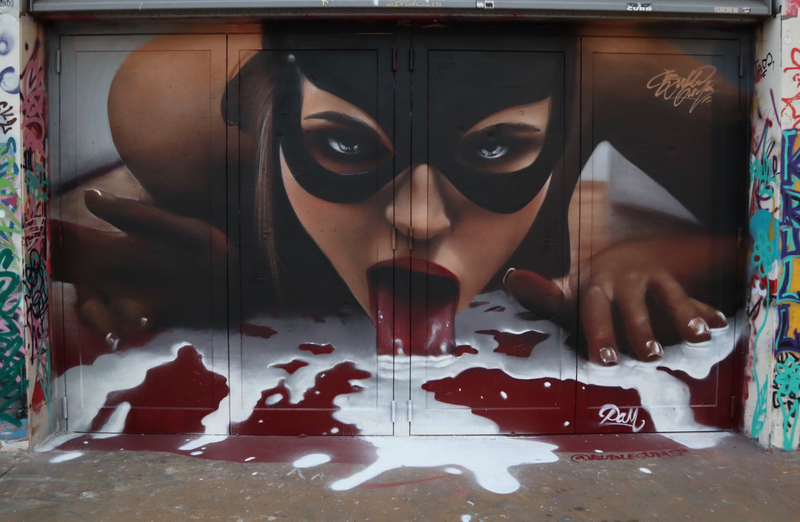 Wallspot - Bublegum - Barcelona - Tres Xemeneies - Graffity - Legal Walls -