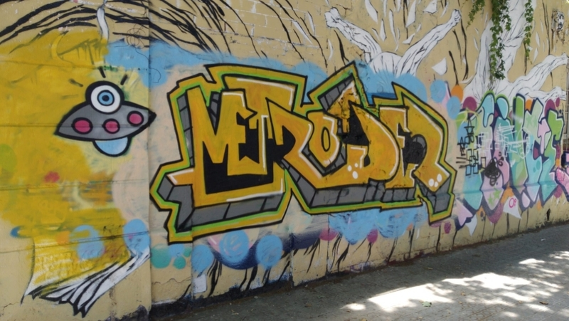 Wallspot - Norek - primera pieza - Barcelona - Western Town - Graffity - Legal Walls -