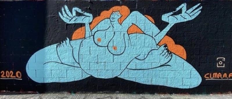 Wallspot - CI.MA.A.A - Tres Xemeneies -  - Barcelona - Tres Xemeneies - Graffity - Legal Walls -