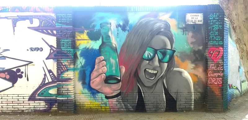Wallspot - ABSURE2000 - Barcelona - Selva de Mar - Graffity - Legal Walls -