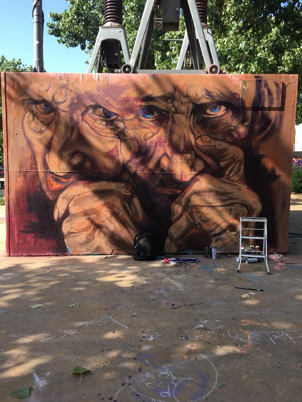 Wallspot - pincel Tattoo - Barcelona - Tres Xemeneies - Graffity - Legal Walls - Ilustración, Otros