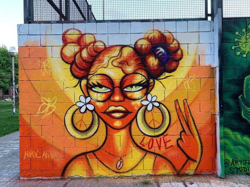 Wallspot - nirv_anna - Vicky - Barcelona - Drassanes - Graffity - Legal Walls - Ilustración