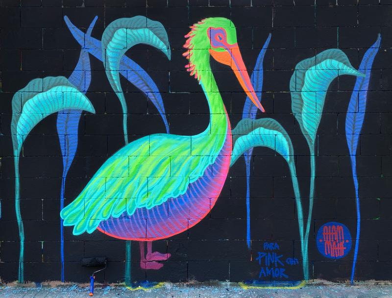 Wallspot - aiam maia - Barcelona - Tres Xemeneies - Graffity - Legal Walls -