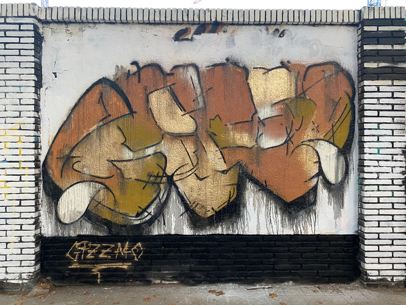 Wallspot - GIZZMO - Barcelona - Selva de Mar - Graffity - Legal Walls - Letras