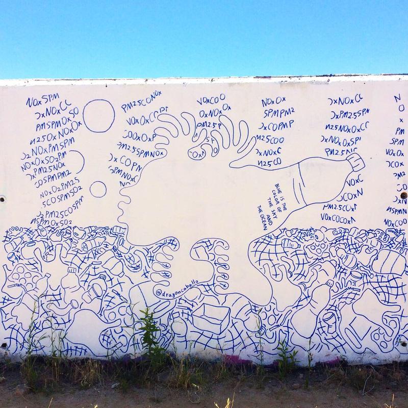 Wallspot - Yoshi - Barcelona - Forum beach - Graffity - Legal Walls -