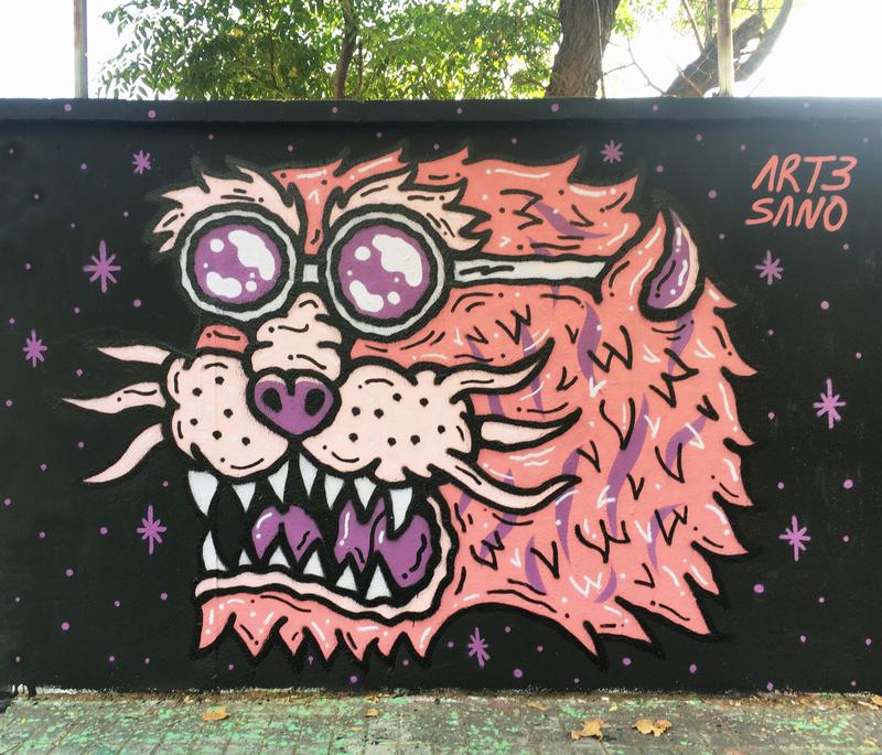 Wallspot - art3sano - Selva de Mar - art3sano - Barcelona - Selva de Mar - Graffity - Legal Walls - Il·lustració