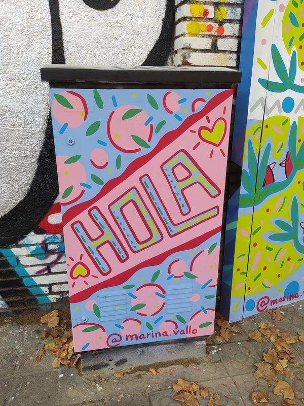 Wallspot - Marinavallo - Selva de Mar - Marinavallo - Barcelona - Selva de Mar - Graffity - Legal Walls - Il·lustració