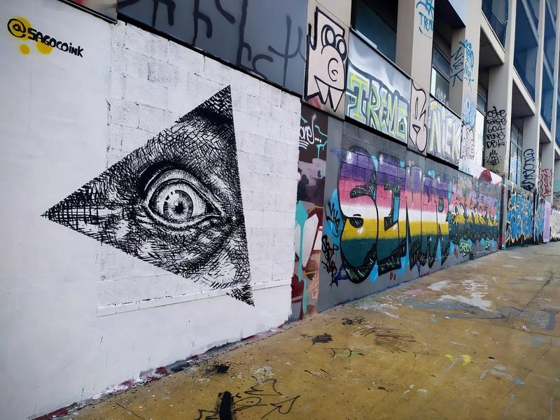 Wallspot - sagoco - Barcelona - Tres Xemeneies - Graffity - Legal Walls -