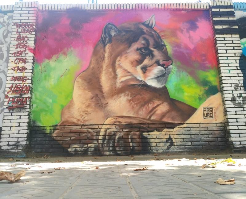 Wallspot - ABSURE2000 - PUMA - Barcelona - Selva de Mar - Graffity - Legal Walls - Lletres