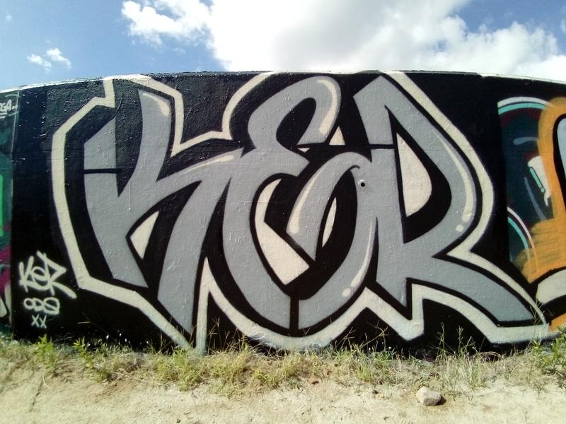 Wallspot - elxavier - Barcelona - Forum beach - Graffity - Legal Walls -